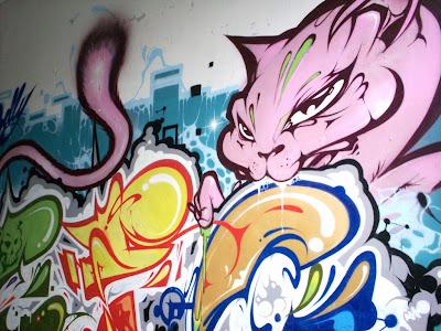 Namur graffiti Defo
