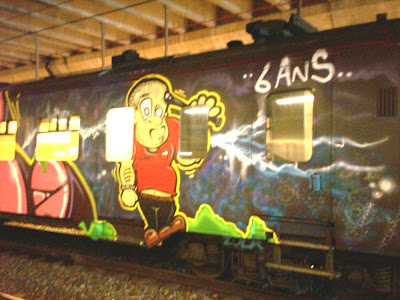 whole train graff
