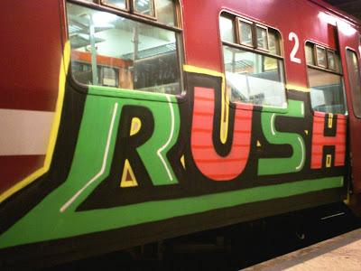 Rush - spray art