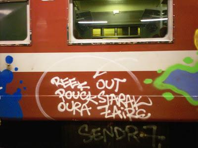 Reek Out Pouck Starak Oura Zaire