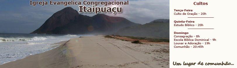 I.E.C. em Itaipuaçu...Lugar de Comunhão