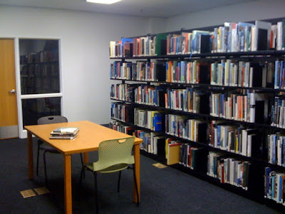 new 3rd floor study space