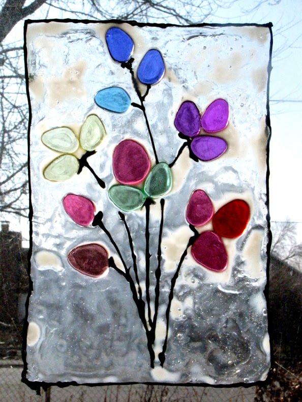 Ordinary Life Magic: Spring Window Art