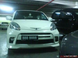 BBB+8888 Koleksi Nombor Plat Kereta Tercantik Dan Termahal Di Malaysia