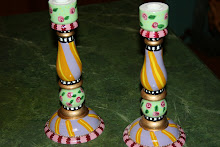 """Festive """"Oooh-La-La"""" Candlesticks"""