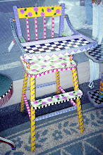 Vintage High Chair - With New Purpose