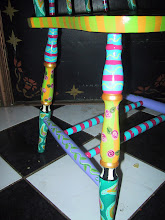 Close-Up of Fantasy Chair Leg