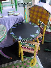 Childs' Table & Chair Set (Chalkboard top)