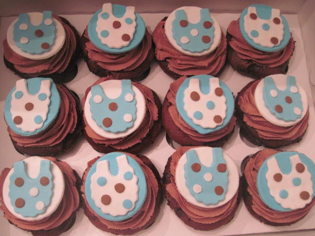 Think Sweet Baby Shower Blue And Brown Theme