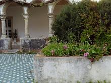 Um recanto verde no Convento de António Varatojo, em Torres Vedars