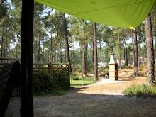Um espaço verde e muito calmo para descansar
