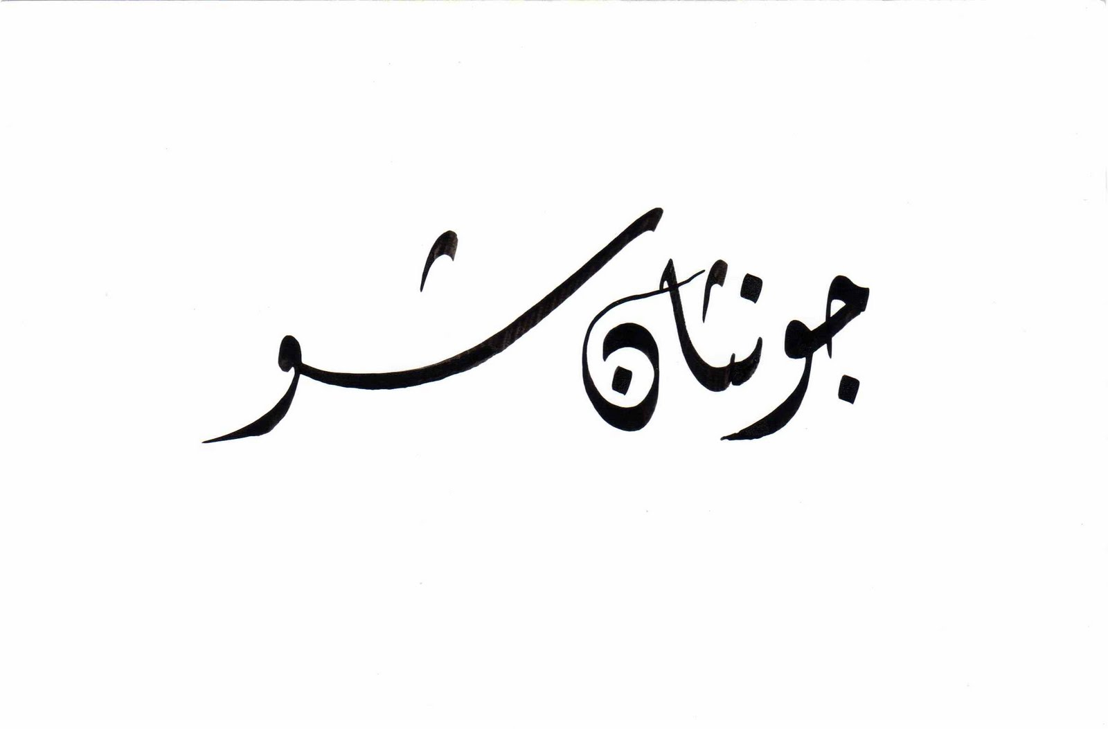 Learn basic arabic script Calligraphy basics