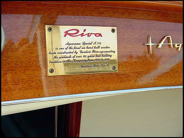"""This rare Riva Aquarama Special was purchased new on Dec."