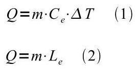 fórmulas calor