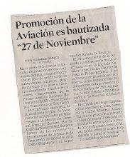 Lea: Promoción  Aviación 27 /Nov/1992