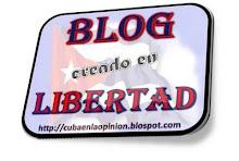 Premio: Blog creado en LIBERTAD