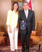 Oscar Arias Presidente de Costa Rica
