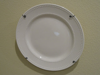 & Make your own plate hanger - Thank you Martha! - Domestically Speaking