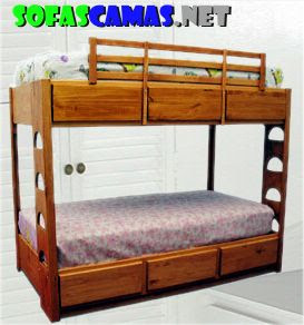 Ventas carpinteria venta de camas y tarimas - Cama litera de madera ...
