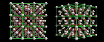 Struktur sel dan molekul permata intan berlian