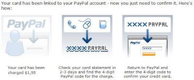 Cara link kartu kredit anda dengan account PayPal