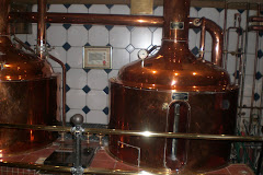 copper vats at Groeninger cellar