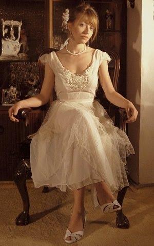 שמלת כלה מתחרה עדינה