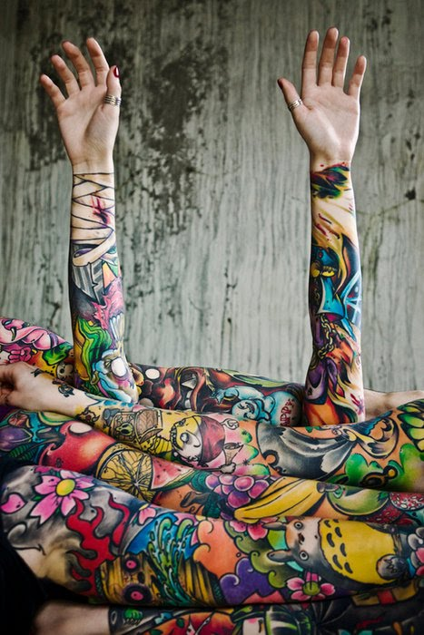 Colorful Tattoo Images