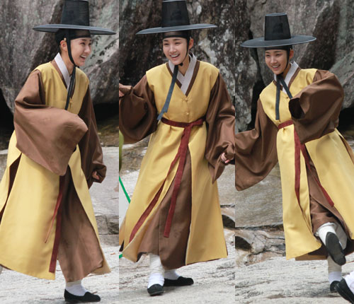 Yoon Hee Behind The Scene at Sungkyunkwan Scandal part 2