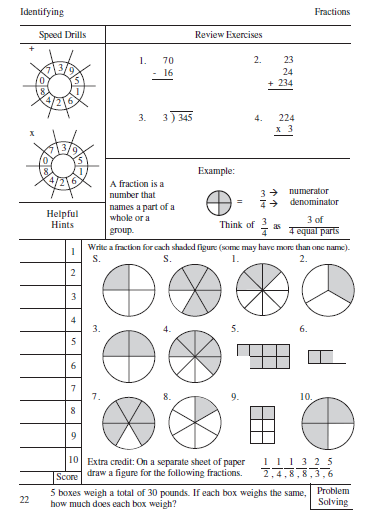 math worksheet : reaping a harvestraising my three sons september 2010 : Estimating Fractions Worksheet