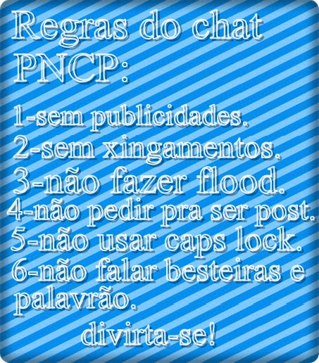 .::Regras do chat:..