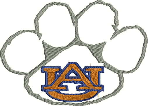 Auburn University logo design
