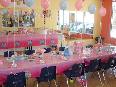 Princess Party: Table & Bags by Cozy Home Chronicles