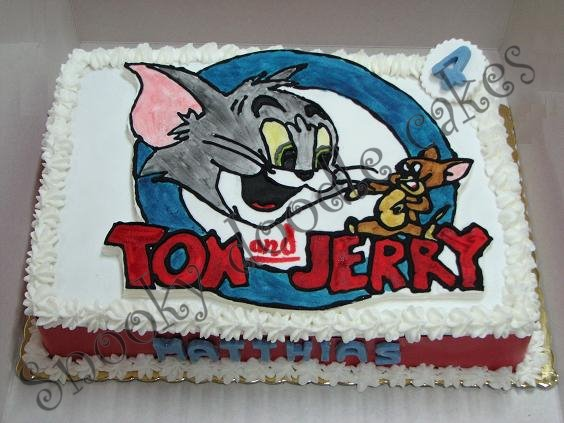 Snooky doodle Cakes Tom and Jerry cakes