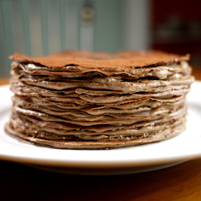 Chocolate crepe recipes