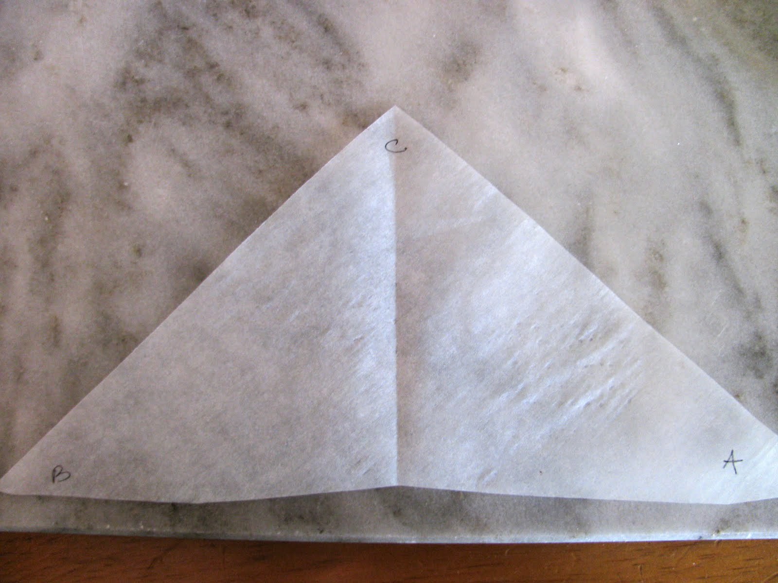 how to make a piping bag out of parchment paper