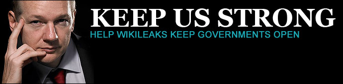 SUPPORT JULIAN ASSANGE/WIKILEAKS