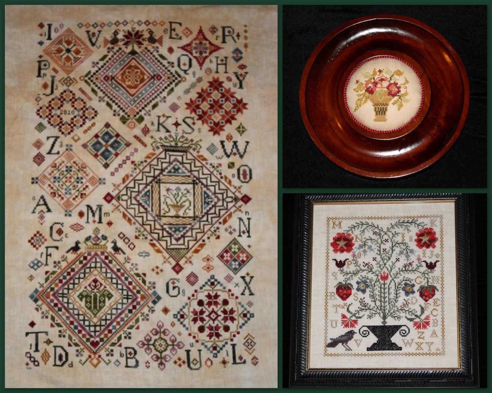 tudor rose sampler guild october 2010