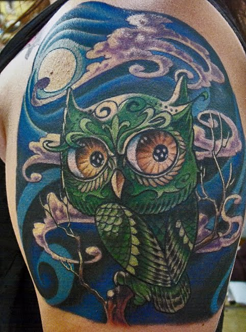 Magic Owl Tattoo