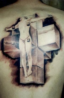 New 3D cross tattoos
