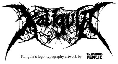 My First Creation on Death Metal Font