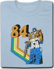 '84 Optimus Prime from NerdyShirts.com