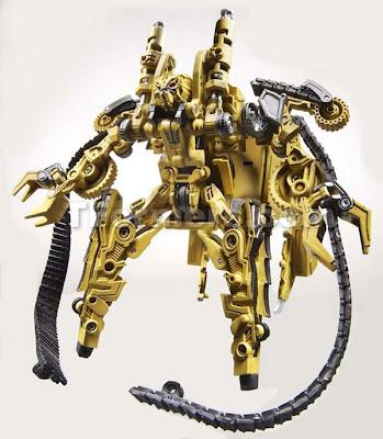 Rampage robot mode