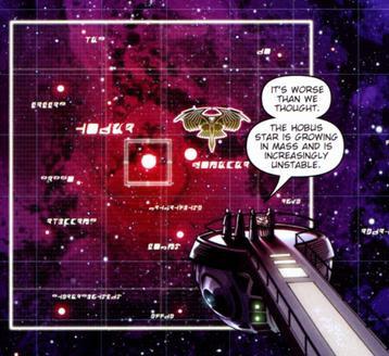 Hobus Star supernova threatens Romulus
