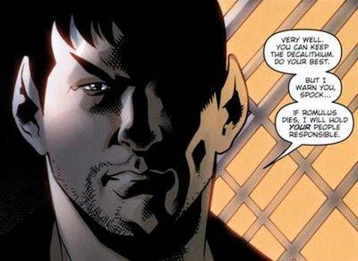 Nero vows revenge against Vulcan if Romulus isn't saved