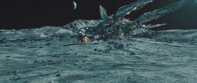 transformers dark of the moon sentinel prime kills ironhide. Re-creating walking on moon
