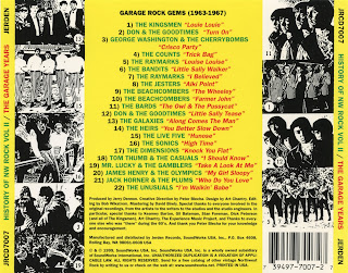 Power Pop Lovers History Of Northwest Rock Vol 2 The