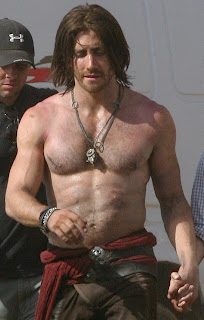 Jake gyllenhaal prince of persia workout