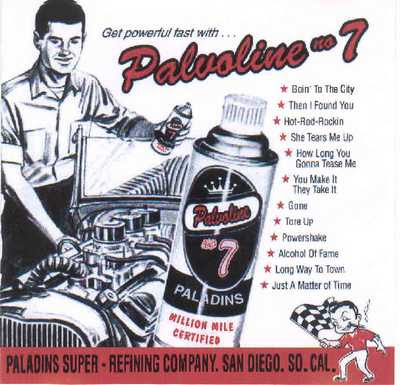The Paladins - Palvoline No. 7 [2001]