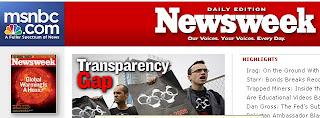 Capa da Newsweek